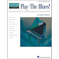 Hal Leonard Play The Blues! Early-Intermediate Level Composer Showcase Hal Leonard Student Piano Library by Luan (296357)