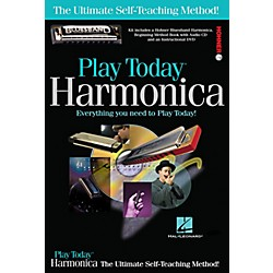 Hal Leonard Play Today Harmonica Complete Kit (Book/CD/DVD/Harmonica) (703707)