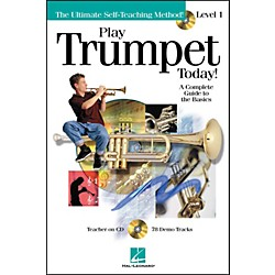 Hal Leonard Play Trumpet Today! Level 1 Book/CD (699491)