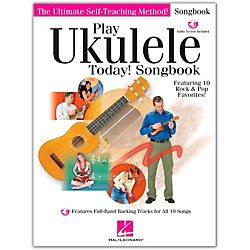 Hal Leonard Play Ukulele Today! Songbook Book/CD (702484)