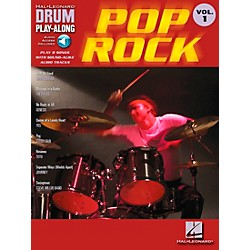 Hal Leonard Pop Rock Drum Play-Along Volume 1 Book with CD (699742)