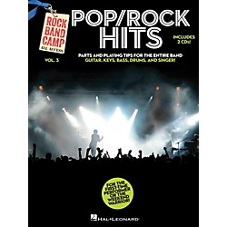 Hal Leonard Pop/Rock Hits - Rock Band Camp Vol. 3 (Book/2-CD Pack) Vocal, Guitar, Keys, Bass, Drums (121819)