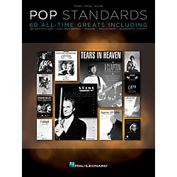 Hal Leonard Pop Standards  60 All Time Greats for Piano/Vocal/Guitar (PVG) (312653)