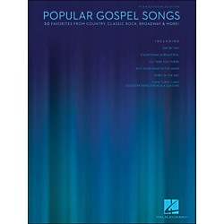 Hal Leonard Popular Gospel Songs - 30 Favorites From Country, Classic Rock, Broadway & More arranged for piano, (311950)