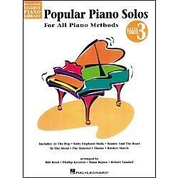 Hal Leonard Popular Piano Solos Book 3 Hal Leonard Student Piano Library by Bill Boyd (296033)