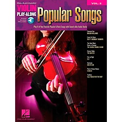Hal Leonard Popular Songs Violin Play-Along Vol 2 Book/CD (842153)