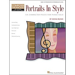 Hal Leonard Portraits In Style - Early Intermediate/Intermediate Level Composer Showcase Hal Leonard Student Pia (296507)