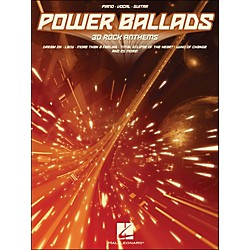 Hal Leonard Power Ballads 30 Rock Anthems arranged for piano, vocal, and guitar (P/V/G) (311777)