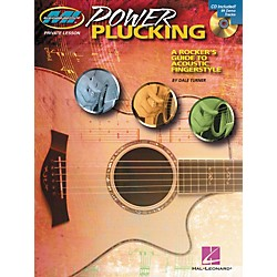 Hal Leonard Power Plucking - A Rocker's Guide to Acoustic Fingerstyle Guitar - Book/CD (695962)