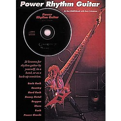 Hal Leonard Power Rhythm Guitar Book/CD (113)