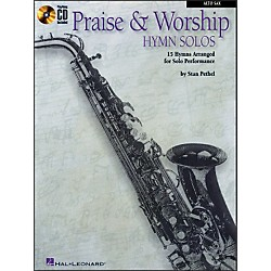 Hal Leonard Praise & Worship Hymn Solos - 15 Hymns Arranged For Solo Performance For Alto Sax Book/CD (841375)