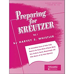 Hal Leonard Preparing For Kreutzer Vol 1 (4472570)