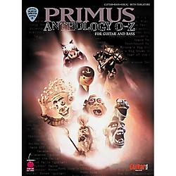 Hal Leonard Primus Anthology O-Z Guitar & Bass Tab Book (2500091)