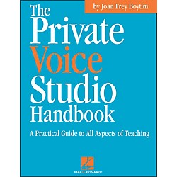 Hal Leonard Private Voice Studio Handbook - A Practical Guide To All Aspects Of Teaching (740185)