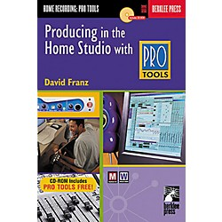Hal Leonard Producing in the Home Studio with Pro Tools Book (50449526)