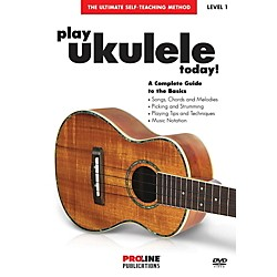 Hal Leonard Proline - Play Ukulele Today DVD (321159)
