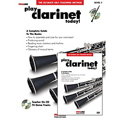 Hal Leonard Proline Play Clarinet Today Beginner's Pack Book/CD/DVD (121319)