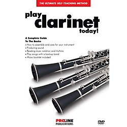 Hal Leonard Proline Play Clarinet Today DVD (121306)
