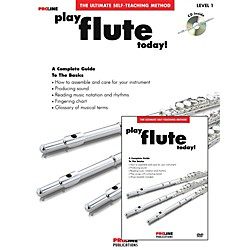 Hal Leonard Proline Play Flute Today Beginner's Pack Book/CD/DVD (121318)