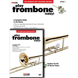 Hal Leonard Proline Play Trombone Today Beginner's Pack Book/CD/DVD (121327)