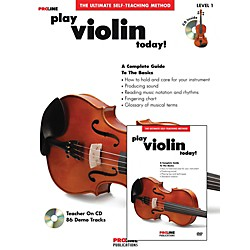 Hal Leonard Proline Play Violin Today Beginner's Pack Book/CD/DVD (121328)