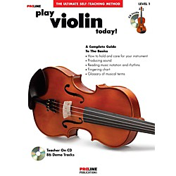 Hal Leonard Proline Play Violin Today Book/CD (121303)