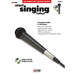 Hal Leonard Proline Start Singing Today Book/CD (121356)