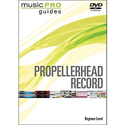 Hal Leonard Propellerhead Record Beginner Music Pro Guide Dvd (320979)