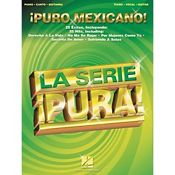 Hal Leonard Puro Mexicano! Piano, Vocal, Guitar Songbook (310972)