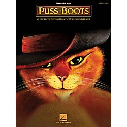 Hal Leonard Puss In Boots: Music From The Motion Picture Soundtrack - Piano Solo Songbook (313629)