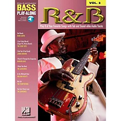 Hal Leonard R&B Bass Guitar Play-Along Series Book with CD (699675)