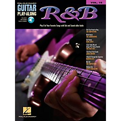 Hal Leonard R&B Guitar Play-Along Series Book with CD (699583)