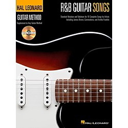 Hal Leonard R&B Guitar Songs - Hal Leonard Guitar Method Book/CD (697433)