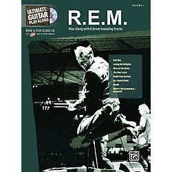 Hal Leonard R.E.M. - Guitar Play Along Book with CD (700718)