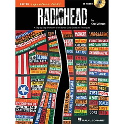Hal Leonard Radiohead - Guitar Signature Licks - A Step-By-Step Breakdown Book/CD (109304)