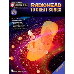 Hal Leonard Radiohead - Jazz Play-Along Volume 171 Book/CD (109305)