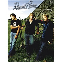 Hal Leonard Rascal Flatts Feels Like Today arranged for piano, vocal, and guitar (P/V/G) (306799)