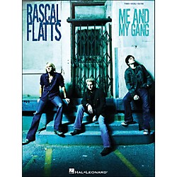Hal Leonard Rascal Flatts Me And My Gang arranged for piano, vocal, and guitar (P/V/G) (306813)