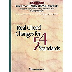 Hal Leonard Real Chord Changes For 54 Standards Fake Book (240098)