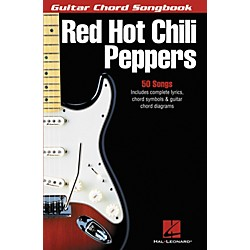 Hal Leonard Red Hot Chili Peppers Guitar Chord Songbook (699710)