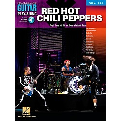 Hal Leonard Red Hot Chili Peppers Guitar Play-Along Volume 153 Book/CD (702990)