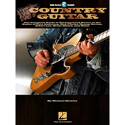 Hal Leonard Red Hot Country Guitar (Book and CD Package) (695831)