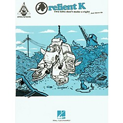 Hal Leonard Relient K Two Lefts Don't Make a Right ...But Three Do Guitar Tab Songbook (690643)