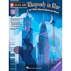 Hal Leonard Rhapsody In Blue & 7 Other Classical-Based Jazz Pieces - Jazz Play-Along 182 Book/CD (116847)
