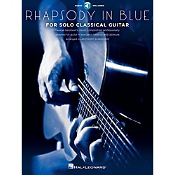 Hal Leonard Rhapsody In Blue For Solo Classical Guitar Book/CD (109735)