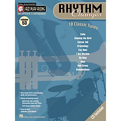 Hal Leonard Rhythm Changes Volume 53 Jazz Play-Along Series Book with CD) (843049)