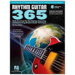 Hal Leonard Rhythm Guitar 365 - Daily Exercises Book/CD (103627)