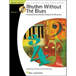 Hal Leonard Rhythm Without The Blues Book/CD Volume 1 Hal Leonard Student Piano Library (296554)
