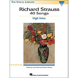 Hal Leonard Richard Strauss: 40 Songs For High Voice (747062)