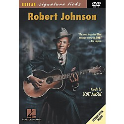 Hal Leonard Robert Johnson Guitar Signature Licks (DVD) (320500)